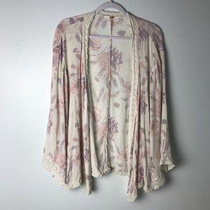 Free People Boco Floral Kimono